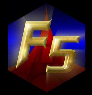 Jushi Sentai France Five [france] Logo_F5